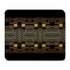 Board Digitization Circuits Large Mousepads by Onesevenart