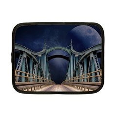 Bridge Mars Space Planet Netbook Case (small)  by Onesevenart