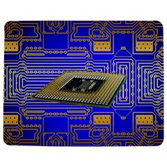 Processor Cpu Board Circuits Jigsaw Puzzle Photo Stand (rectangular) by Onesevenart