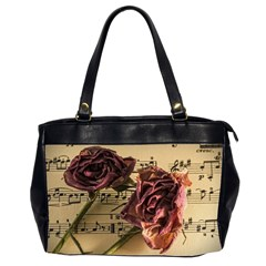 Sheet Music Manuscript Old Time Office Handbags (2 Sides)  by Onesevenart