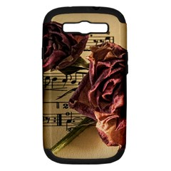 Sheet Music Manuscript Old Time Samsung Galaxy S Iii Hardshell Case (pc+silicone) by Onesevenart