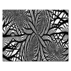 Fractal Symmetry Pattern Network Rectangular Jigsaw Puzzl