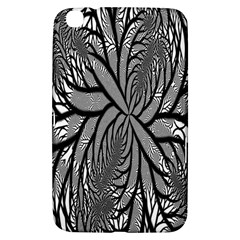 Fractal Symmetry Pattern Network Samsung Galaxy Tab 3 (8 ) T3100 Hardshell Case  by Onesevenart