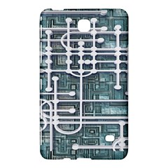Board Circuit Control Center Samsung Galaxy Tab 4 (8 ) Hardshell Case  by Onesevenart