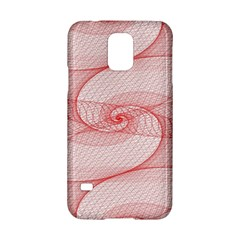 Red Pattern Abstract Background Samsung Galaxy S5 Hardshell Case  by Onesevenart