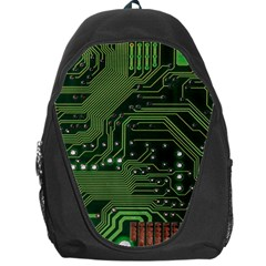 Board Computer Chip Data Processing Backpack Bag by Onesevenart