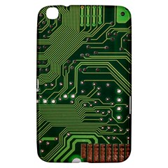 Board Computer Chip Data Processing Samsung Galaxy Tab 3 (8 ) T3100 Hardshell Case  by Onesevenart