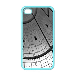 Graphic Design Background Apple Iphone 4 Case (color) by Onesevenart