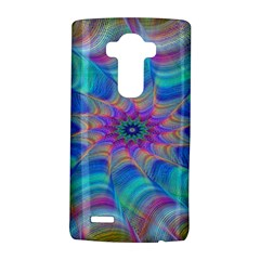 Fractal Curve Decor Twist Twirl Lg G4 Hardshell Case by Onesevenart