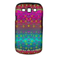 Years Of Peace Living In A Paradise Of Calm And Colors Samsung Galaxy S Iii Classic Hardshell Case (pc+silicone) by pepitasart
