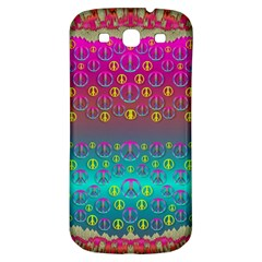 Years Of Peace Living In A Paradise Of Calm And Colors Samsung Galaxy S3 S Iii Classic Hardshell Back Case by pepitasart