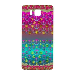 Years Of Peace Living In A Paradise Of Calm And Colors Samsung Galaxy Alpha Hardshell Back Case