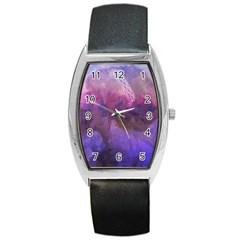 Ultra Violet Dream Girl Barrel Style Metal Watch by 8fugoso