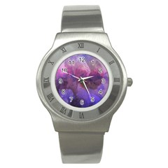 Ultra Violet Dream Girl Stainless Steel Watch by 8fugoso