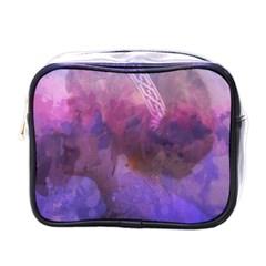 Ultra Violet Dream Girl Mini Toiletries Bags by 8fugoso
