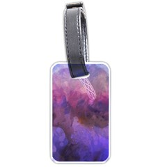 Ultra Violet Dream Girl Luggage Tags (one Side)  by 8fugoso