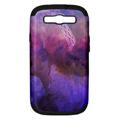 Ultra Violet Dream Girl Samsung Galaxy S Iii Hardshell Case (pc+silicone) by 8fugoso