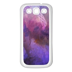 Ultra Violet Dream Girl Samsung Galaxy S3 Back Case (white) by 8fugoso