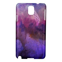 Ultra Violet Dream Girl Samsung Galaxy Note 3 N9005 Hardshell Case by 8fugoso