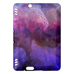 Ultra Violet Dream Girl Kindle Fire Hdx Hardshell Case by 8fugoso