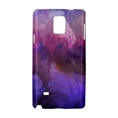 Ultra Violet Dream Girl Samsung Galaxy Note 4 Hardshell Case by 8fugoso