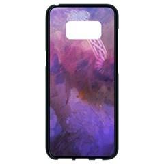 Ultra Violet Dream Girl Samsung Galaxy S8 Black Seamless Case by 8fugoso