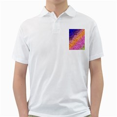 Crystalized Rainbow Golf Shirts by 8fugoso