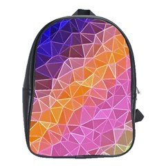 Crystalized Rainbow School Bag (large)