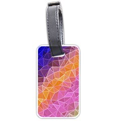 Crystalized Rainbow Luggage Tags (one Side)  by 8fugoso