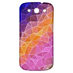 Crystalized Rainbow Samsung Galaxy S3 S Iii Classic Hardshell Back Case by 8fugoso