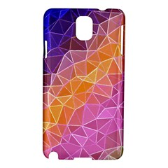 Crystalized Rainbow Samsung Galaxy Note 3 N9005 Hardshell Case by 8fugoso