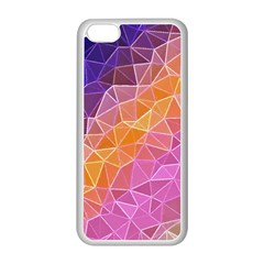 Crystalized Rainbow Apple Iphone 5c Seamless Case (white) by 8fugoso