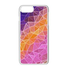 Crystalized Rainbow Apple Iphone 7 Plus Seamless Case (white)