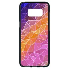 Crystalized Rainbow Samsung Galaxy S8 Black Seamless Case by 8fugoso