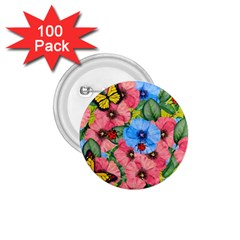 Floral Scene 1 75  Buttons (100 Pack)  by linceazul