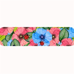 Floral Scene Large Bar Mats by linceazul