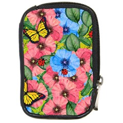 Floral Scene Compact Camera Cases by linceazul
