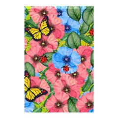 Floral Scene Shower Curtain 48  X 72  (small)  by linceazul