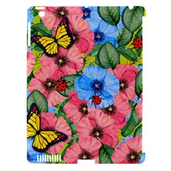 Floral Scene Apple Ipad 3/4 Hardshell Case (compatible With Smart Cover) by linceazul