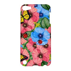 Floral Scene Apple Ipod Touch 5 Hardshell Case by linceazul