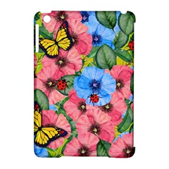 Floral Scene Apple Ipad Mini Hardshell Case (compatible With Smart Cover) by linceazul