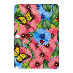 Floral Scene Samsung Galaxy Tab Pro 10 1 Hardshell Case by linceazul