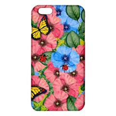 Floral Scene Iphone 6 Plus/6s Plus Tpu Case by linceazul