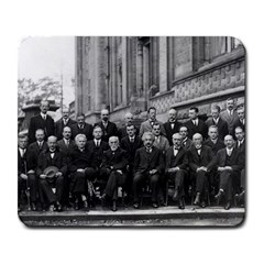 1927 Solvay Conference On Quantum Mechanics Large Mousepads by thearts