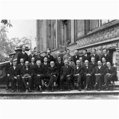 1927 Solvay Conference On Quantum Mechanics Canvas 20  X 30   by thearts