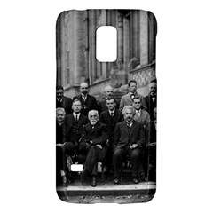 1927 Solvay Conference On Quantum Mechanics Galaxy S5 Mini by thearts