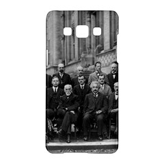 1927 Solvay Conference On Quantum Mechanics Samsung Galaxy A5 Hardshell Case  by thearts