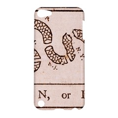 Original Design, Join Or Die, Benjamin Franklin Political Cartoon Apple Ipod Touch 5 Hardshell Case by thearts