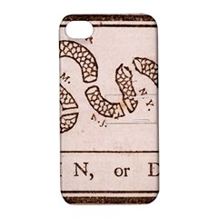 Original Design, Join Or Die, Benjamin Franklin Political Cartoon Apple Iphone 4/4s Hardshell Case With Stand by thearts