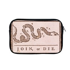 Original Design, Join Or Die, Benjamin Franklin Political Cartoon Apple Macbook Pro 13  Zipper Case by thearts